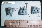 Snowspeeder models - really small